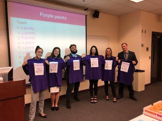 Team 1 Purple Points